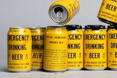 Emergency Drinking Beer by Alvin Diec