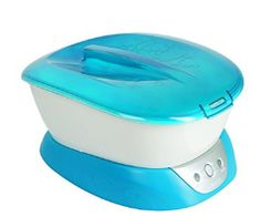 Homedics Paraspa Plus Paraffin Bath Hydrates and soothes for baby soft skin Ready light lets you know when wax is ready for use Safety system with locking lid Includes 3 pound of hypo-allergenic wax and 20 liners - no scents or dyes added Wax Bath, Back Massager, Wax Warmer, Home D, Health And Beauty, The Help, Skin Care, Ebay, Baths