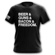 Bacon   Mens Tee   Tactical Pro Supply   Tactical Pro Gun T Shirt Designs Branded T Shirts, Printed Shirts, Culture T Shirt, Mens Tees, Shirt Men, Pro Gun, Shirt Designs, Vinyl Designs, Bacon