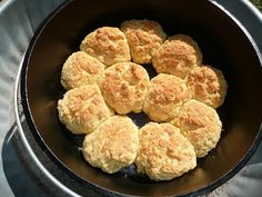 Everyday Dutch Oven: Cornmeal Scones (camping instructions)