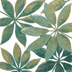 Teal Touch II Art Print by Patricia Pinto at Art.co.uk