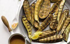 Grilled Japanese Eggplant with Miso Glaze