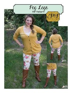Peg Legs - Plus Size Lularoe - Ideas of Plus Size Lularoe - Peg Legs- women's juniors plus ladies size legging pdf sewing pattern- short bike capri ankle length-no elastic waistband- promo code for discount in Patterns for Pirates FB group! Plus Size Leggings, Women's Leggings, Pdf Sewing Patterns, Clothing Patterns, Patterns For Pirates, Trendy Plus Size Clothing, Under Dress, Learn To Sew, Sewing Clothes