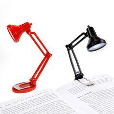 Przenośna lampka do czytania.