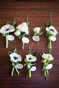 Anemones, wedding flowers