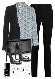 Style #9794 by vany-alvarado on Polyvore featuring polyvore fashion style Yves Saint Laurent Chanel clothing
