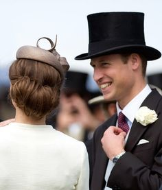 Princess Kate Epsom Derby Hair