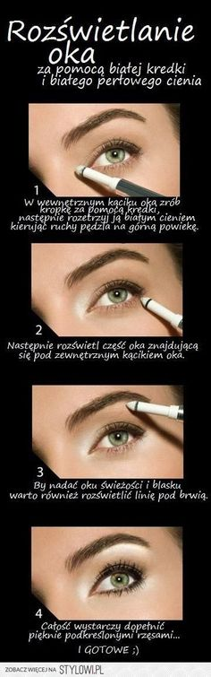 pl - Odkrywaj, kolekcjonuj, kupuj - New Ideas Diy Beauty Makeup, Kiss Makeup, Makeup Tips, Beauty Hacks, Hair Makeup, Hair Beauty, Beauty And The Best, Fashion And Beauty Tips, Beauty Make Up