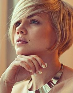 Short-Messy-Bob-Hairstyles - Hollywood Official