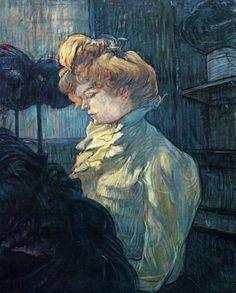 Тулуз-Лотрек (De Toulouse-Lautrec) Анри Мари Раймо: Модистка