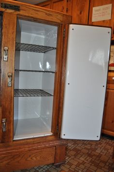 Vintage Icebox Images Baldwin Refrigerator Co Antique