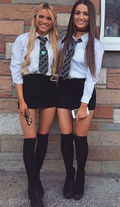 Cute School Uniforms, School Uniform Fashion, School Uniform Girls, Girls Uniforms, School Outfits, Cute Girl Outfits, Girly Outfits, Cute Casual Outfits, Sexy Outfits