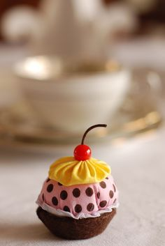 Lembrancinhas Sachês de Mini Cupcakes