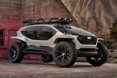 Audi AI:Trail Quattro Concept SUV - Concept Cars News and Information Audi A5 Coupe, Audi Q3, Audi Cars, Concept Cars, Frankfurt, Off Road Buggy, Offroader, City Car, Design Blog