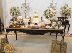 Noivado Rosa e Dourado | Vestida de Noiva | Blog de Casamento por Fernanda Floret
