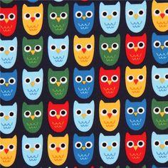 http://www.kawaiifabric.com/en/p9292-navy-blue-Robert-Kaufman-fabric-cute-colorful-owl-bird.html