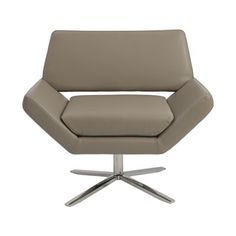 Euro Style 05007TPE Carlotta Lounge Chair