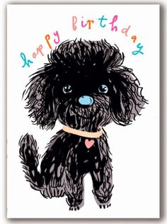 print & pattern: CARDS - noi publishing - furry dog
