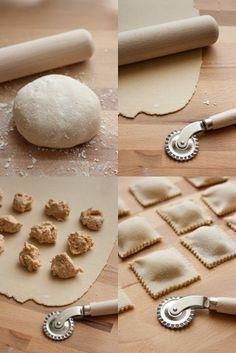 Gluténmentes ravioli recept
