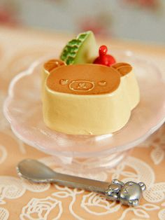 Rilakkuma cake!! Or is that pudding.. what ever it is its adorable!