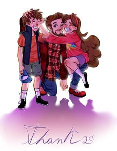 This is making me wanna cry. I'll miss you Gravity Falls, Thank you.