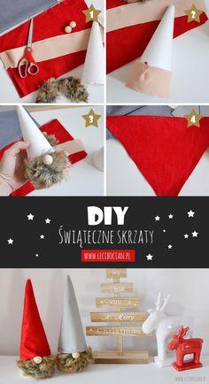 DIY: Jak zrobić świąteczne skrzaty/krasnale? / Christmas gnomes