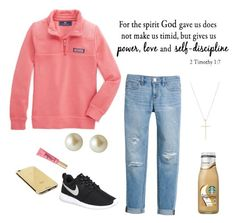 """""""Love...... -Autumn// @simply-southern-prep"""" by southern-preps1 ❤ liked on Polyvore featuring White House Black Market, Tiffany & Co., NIKE, Carolee and Goldgenie"""