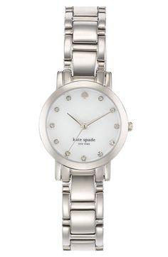 kate spade new york gramercy mini crystal watch