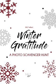 A fun way to encourage gratitude during the long winter months.