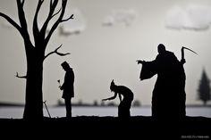 Creative Paper-Cut Silhouettes by David A. Reeves | Abduzeedo Design Inspiration & Tutorials