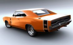 muscle cars | Cars Orange Muscle Cars Dodge Charger R/t Dodge Charger Fresh New Hd ...