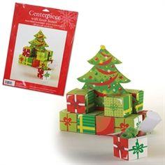 Christmas Tree Favor Box Centerpiece  from Windy City Novelties