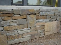 Regular bluestone - still a nice rectangular look but more variation in color and a little softer than the snapped. You would not need the larger stones. Preference #1
