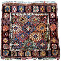 98. Kurdish bag. Late 19th c.