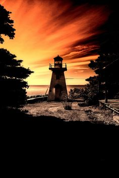 Lighthouse - Hampton, Nova Scotia