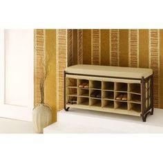 homcom entryway shoe storage organizer bench brown shoe storage pinterest shoes brown and storage