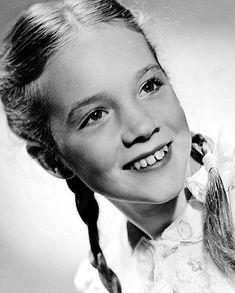 Julie Andrews as a child