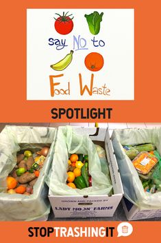 It's the holiday season! Bouncing from one family dinner to another party or event, there's potential for lots of food waste. That's why Fidan is focusing the spotlight on Say No To Food Waste, an organization that's bei. Food Waste, Spotlight, Things That Bounce, Battle, Plastic, Organization, Dinner, Sayings, Holiday