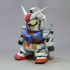 SD RX-78-2 Gundam - Painted Build - Gundam Kits Collection News and Reviews