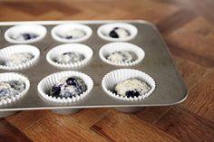 Buttermilk Blueberry Muffins--alanakdavis.blogspot.com