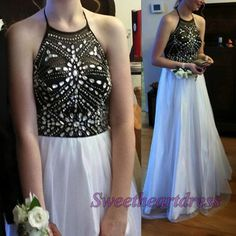 Modest prom dress 2016,homecoming dress,ball gown, party dress for teens, maxi dress, free custom made for color an d size straps chiffon evening dress sweetheartdress.s... #coniefox #2016prom