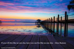 If you will live like no one else, later you can live like no one else. Check out my latest blog post with tips help you get there: http://findtheblissfullife.blogspot.ca/2014/02/2014-is-my-year-for-money-makeover-what.html