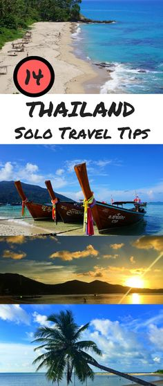 Thailand is a great place for solo travel. These 14 tips will help you to make the most out of your solo trip to Thailand. #thailand #travel #solotravel Thailand Solo Travel | Thailand Travel Tips | Travel to Thailand