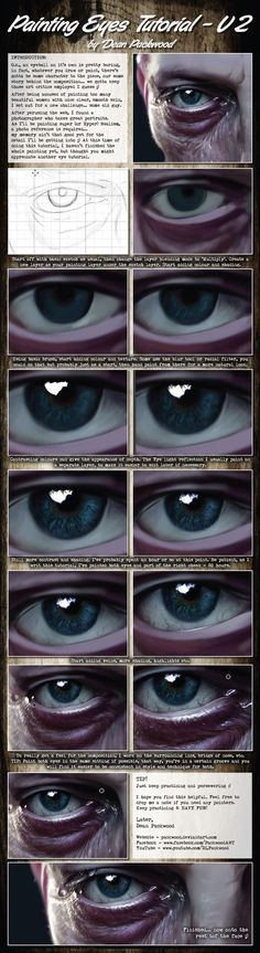 This is a step by step tutorial on painting realistic eyes, well, Britney Spears eyes Anyway, although this is digital painting, the same principles apply to traditional painting. Full painting and...
