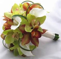 bridal bouquets with orchids - - Yahoo Image Search Results