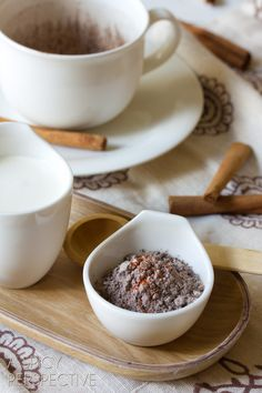 with cinnamon, nutmeg, and cayenne pepper makes this warming beverage even more stimulating.