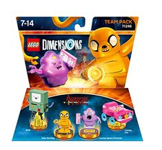 LEGO Dimensions: Adventure Time Team Pack This item will be released on September 30, 2016.