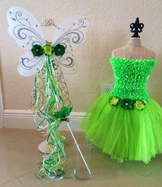 Tinkerbell Dress Tinkerbell Costume Tinkerbell by partiesandfun