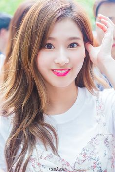 Sana looking at you Kpop Girl Groups, Korean Girl Groups, Kpop Girls, Nayeon, Sana Cute, Sana Minatozaki, Twice Once, Twice Kpop, Twice Sana