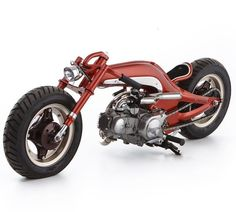 Custom Honda Monkey mini bike